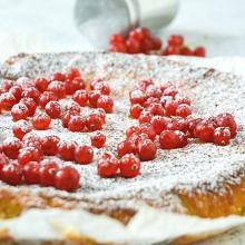 Kladdkaka, la torta appiccicosa al cioccolato bianco
