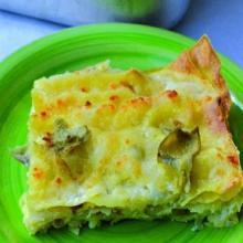 lasagne ai carciofi con bacon e scamorza (bimby)