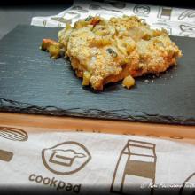 lasagne vegetariane con pane carasau