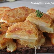 medaglioni di patate al forno