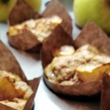Muffin speziati alle mele