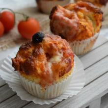 muffins pizza (senza lievitazione)