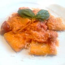 Paccheri con ricotta e pomodoro - Ricette Primi Piatti