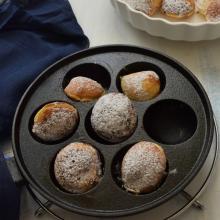 Pancakes danesi (Æbleskiver)
