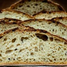 pane con farina di grano tenero di tipo 2