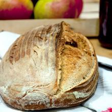 pane con farina tridourm e tris di lieviti – pasta madre, pasta di riporto e lievito di birra