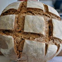 Pane con grano duro Russello e segale