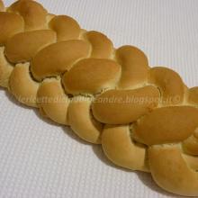 Pane intrecciato a 6 con impasto tipo ferrarese