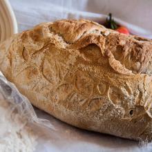 pane semplice dal colore dorato
