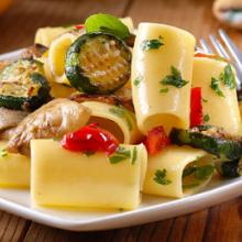 pasta e zucchine alla scapece