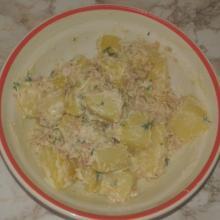 patate al tonno e maionese (piatto freddo video)