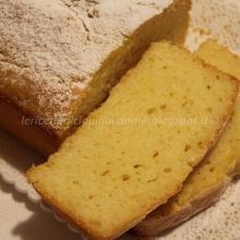 Plumcake con albumi al limone e mandarino (di riciclo)