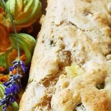 Plumcake con zucchine e brie