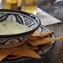 salsa messicana al formaggio