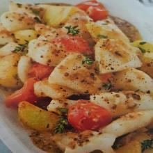 Seppie e patate novelle alla senape