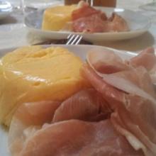 sformatini freddi di melone con prosciutto(bimby)