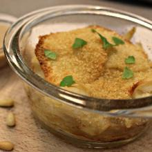 Torrette di patate e baccala' in salsa