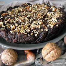Torta al cioccolato di pane raffermo / chocolate pie of bread