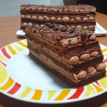 Torta al cioccolato e caffè (senza farina)