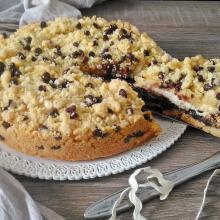 torta cookies con ricotta e nutella