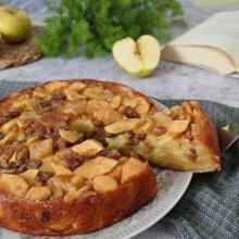 Torta di mele di sant'orfeo, antica ricetta umbra