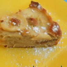 torta di mele svedese con cioccolato e cannella
