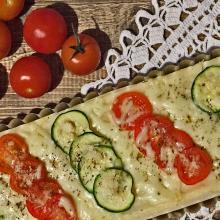 Torta di semolino con verdure