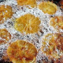 Torta rovesciata all'arancia (per Natale)