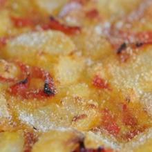 torta salata di patate e peperoni