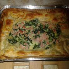 torta salata in pasta sfoglia spinaci e ricotta