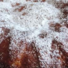 Torta soffice di mele ( senza burro )
