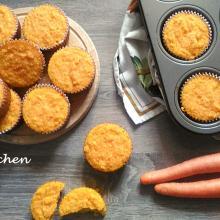 tortine di carote e mandorle senza glutine e senza latte: le camilline
