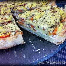 Tortino di alici,patate e pomodorini senza glutine