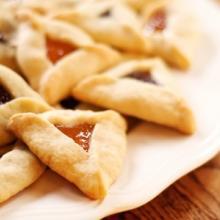 Triangolini dolci farciti alla marmellata