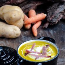 Vellutata di piselli e carote – ricetta facile e veloce