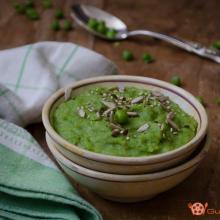 vellutata di piselli e patate – ricetta facile e veloce