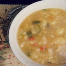 Zuppa al cavolfiore