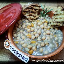 """Zuppa di ceci e patate in """"coccio"""""""