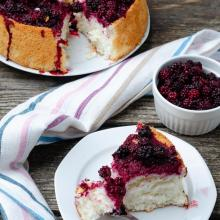 Angel cake – torta americana solo albumi