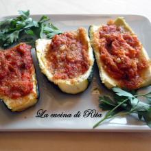 Barchette di zucchine / zucchini boats