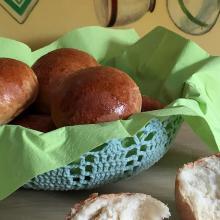 Bottoni di pane al burro