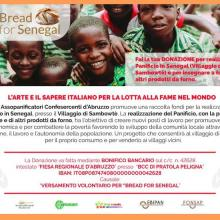 Bread for senegal – il pane e la fame nel mondo