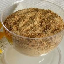 Brodo granulare vegetale fatto in casa...