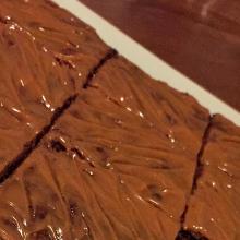 brownies alla nutella con caramello salato