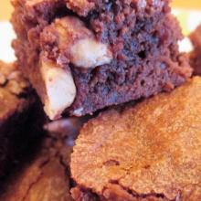 brownies con le nocciole