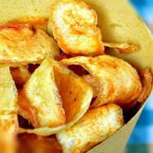 Bucce di patata fritte