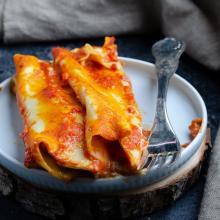 Cannelloni ripieni di carne macinata