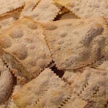 Chiacchere o Crostoli al forno