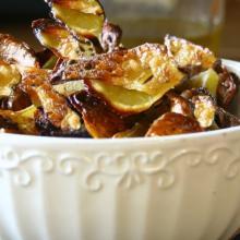 Chips di patate ..si ma di solo bucce