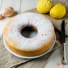 ciambella yogurt greco e limone nel fornetto versilia